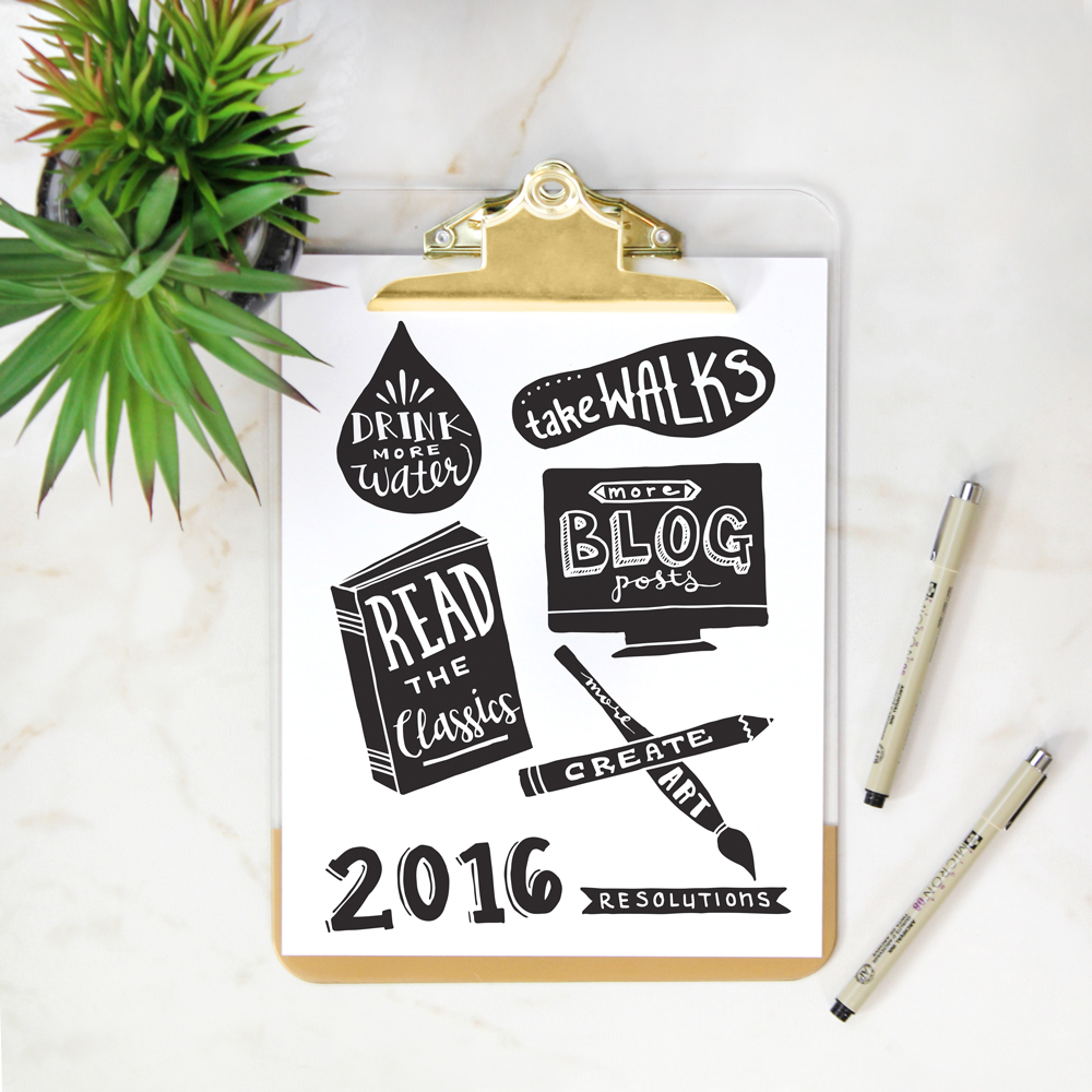 2016 Resolutions | A Sip of Bliss