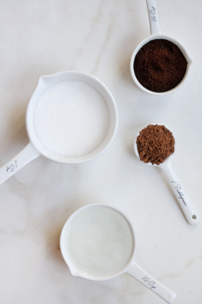 DIY Mocha Body Scrub | A Sip of Bliss