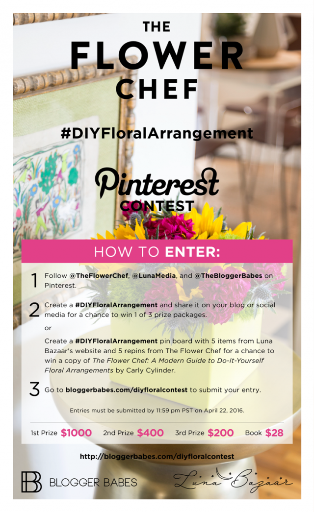 #DIYFloralArrangement Pinterest Graphic