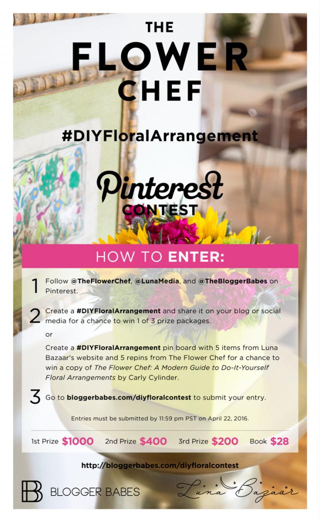#DIYFloralArrangement Pinterest Graphic