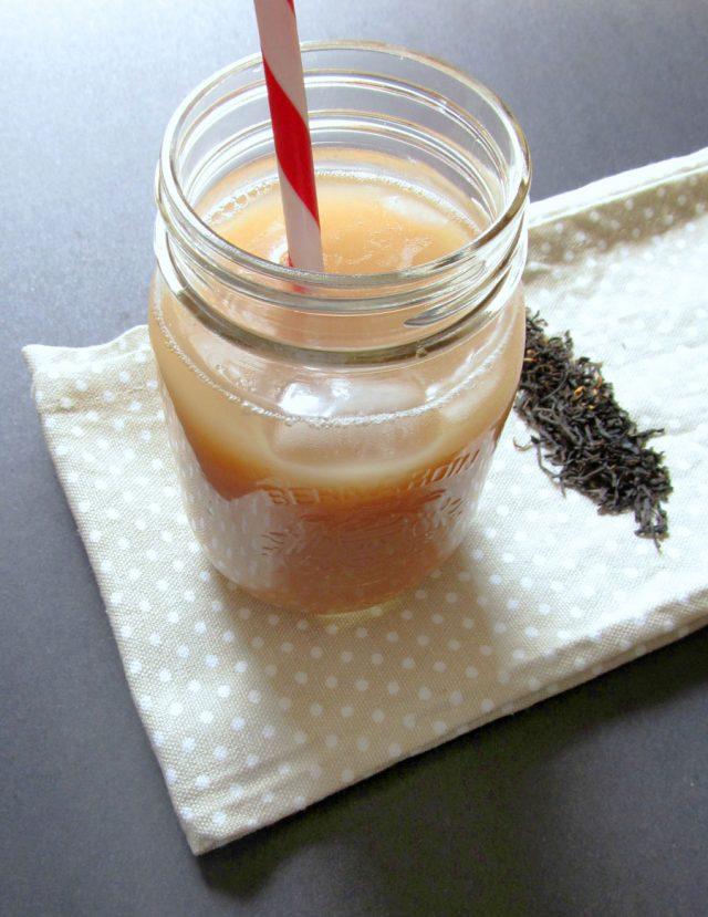 Iced Earl Grey Latte