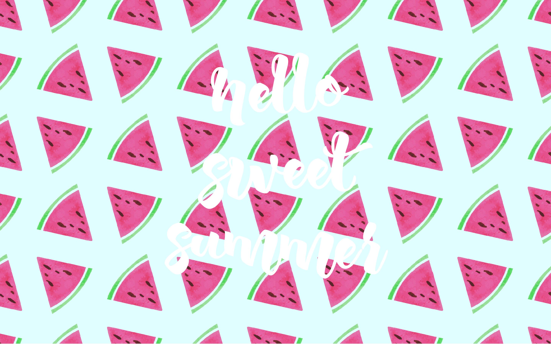 Blissful Screens Summer Watermelons