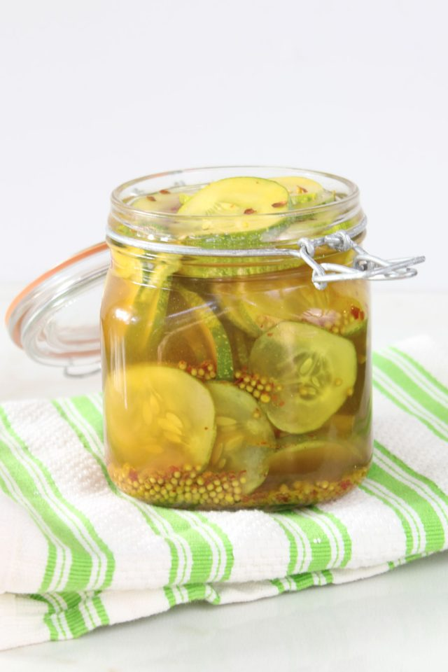 Sweet & Spicy Quick Pickles