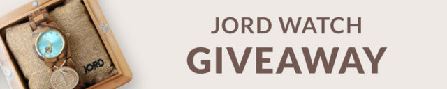 JORD Watch Giveaway | A Sip of Bliss