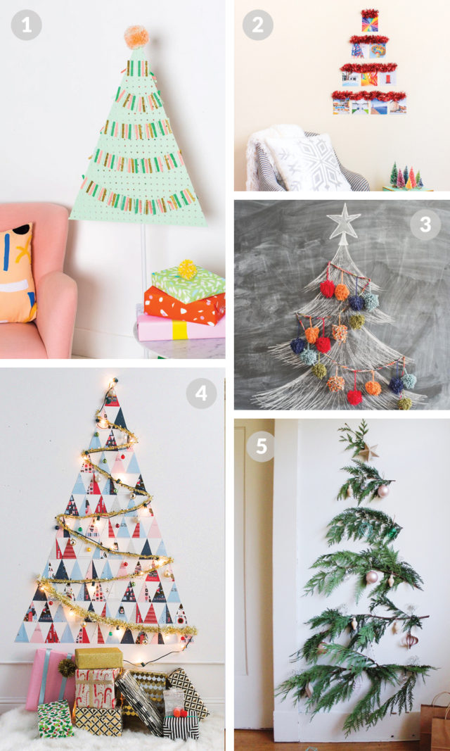 DIY Alternative Christmas Trees to Try